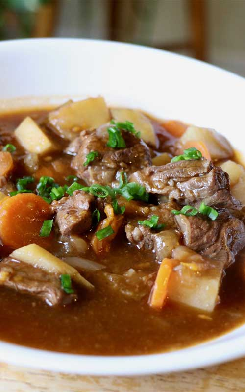 Healthier Irish Beef Stew