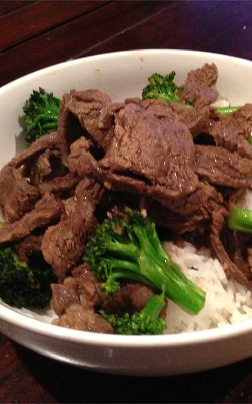 Broccoli and Beef Stir Fry