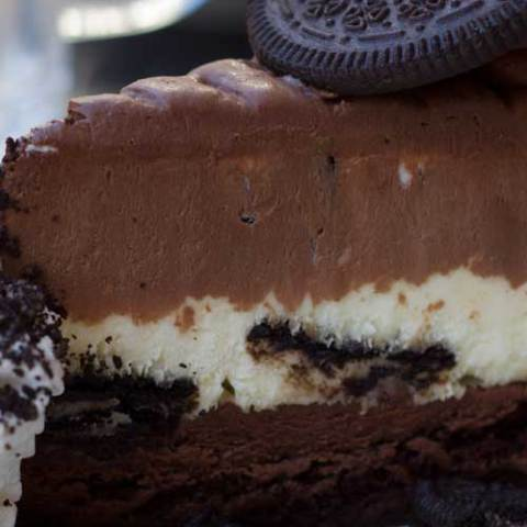 Delicious chocolatey decadence in every bite. This copycat recipe for the Cheesecake Factory's Oreo Dream Extreme Cheesecake is a chocolate lover's dream come to life!
