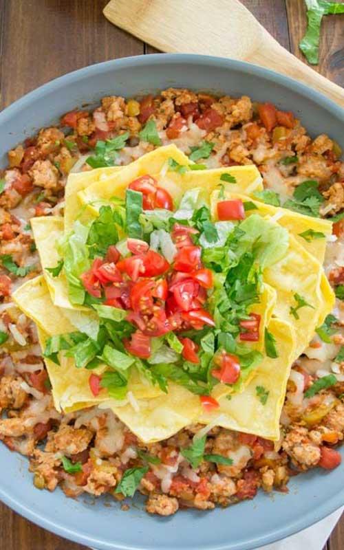 Skillet Enchilada Dinner