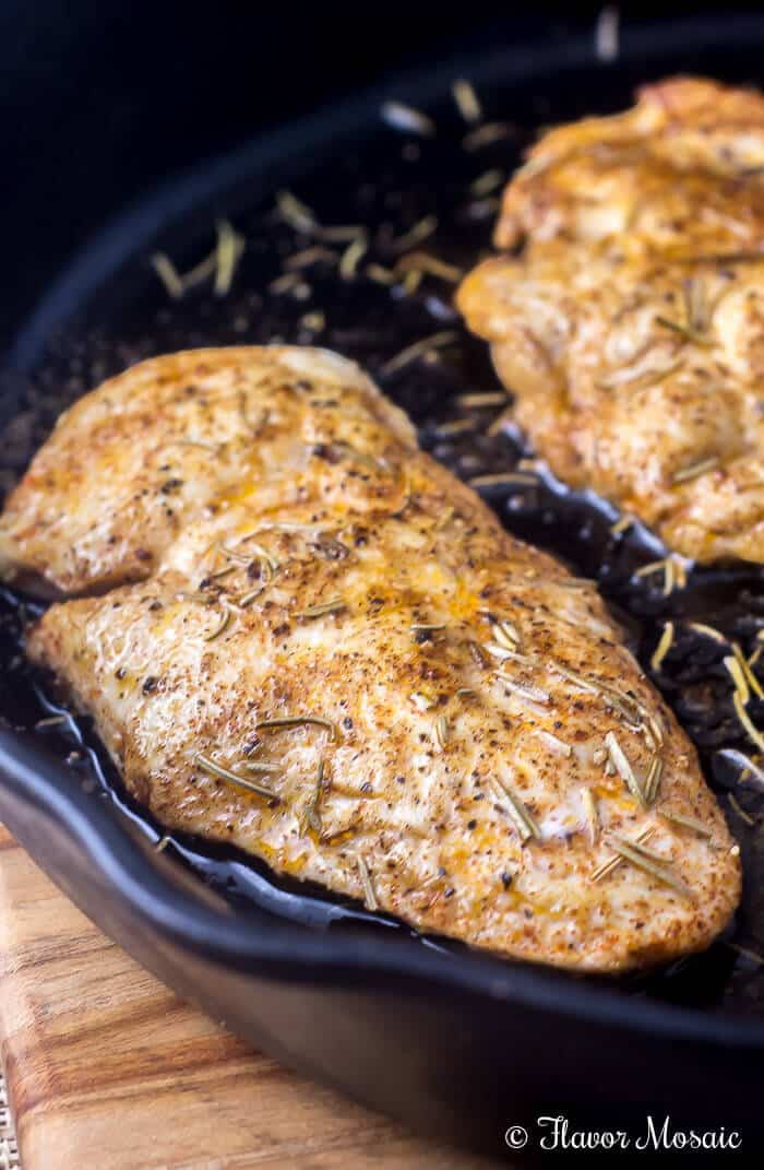 Oven Baked Chicken Breast Flavor Mosaic