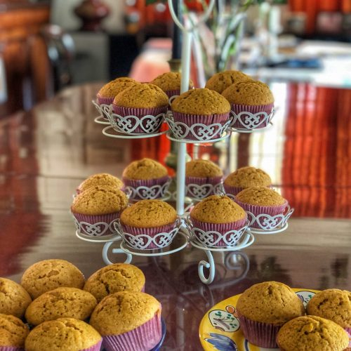 Pumpkin Muffins are a delicious dessert, great for breakfast or an afternoon snack - and great for the holidays!