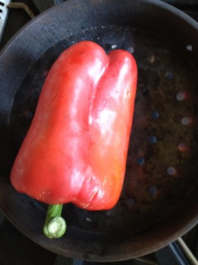 Red pepper for chick pea