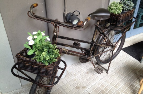 Recycled bicycle