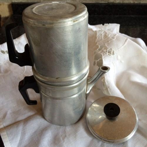 Antique Neapolitan coffee maker