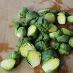 Halved and Trimmed Brussels Sprouts