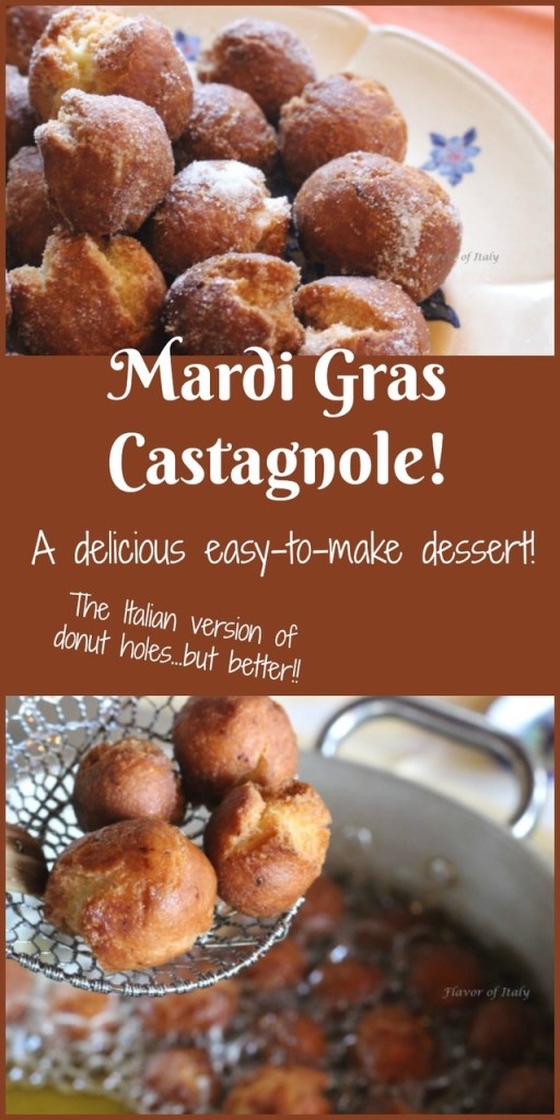 Castagnole di Carnevale - the Italian version of a donut hole...but better!