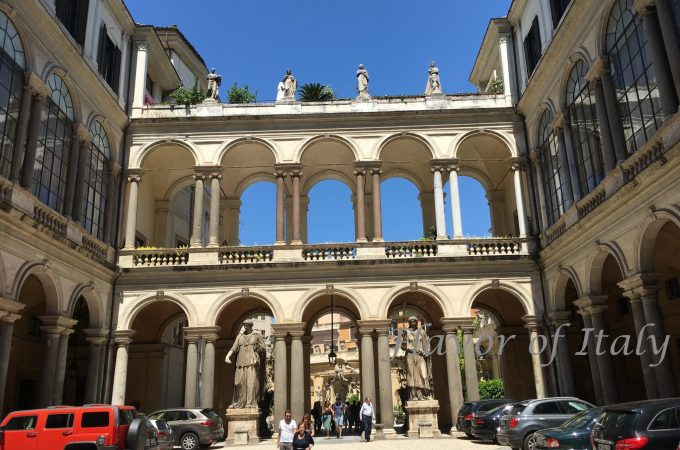 Palazzo Borghese courtyard
