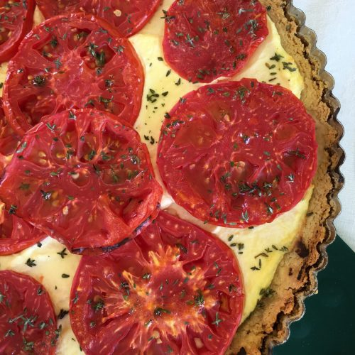 Tomato Ricotta Tart is great for your abundance of garden tomatoes