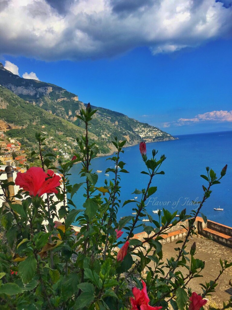 Positano seaside view