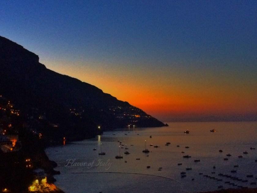 Amazing Positano view at night!