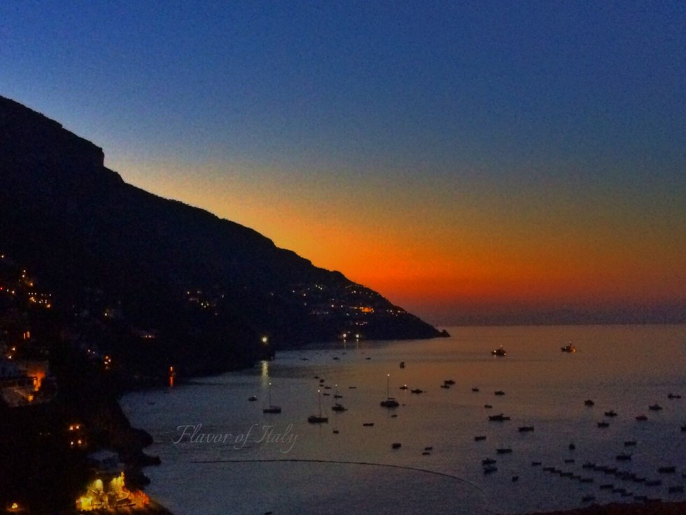Amazing Positano view at night!