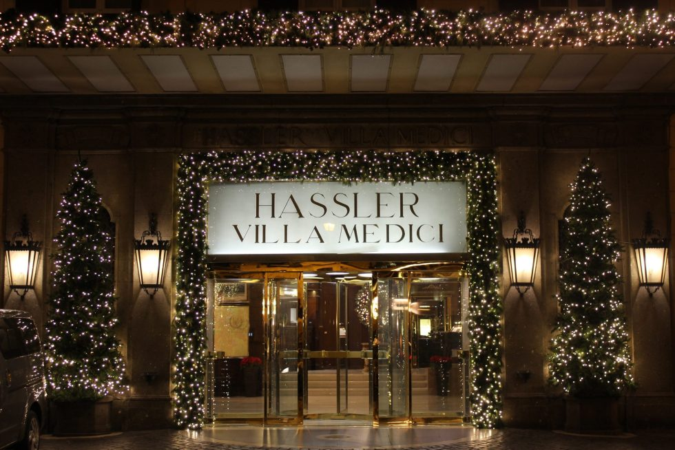 Hassler Hotel at Christmas