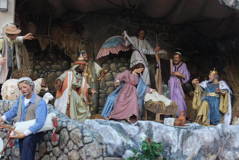 Presepe Saint Peters Square, Rome