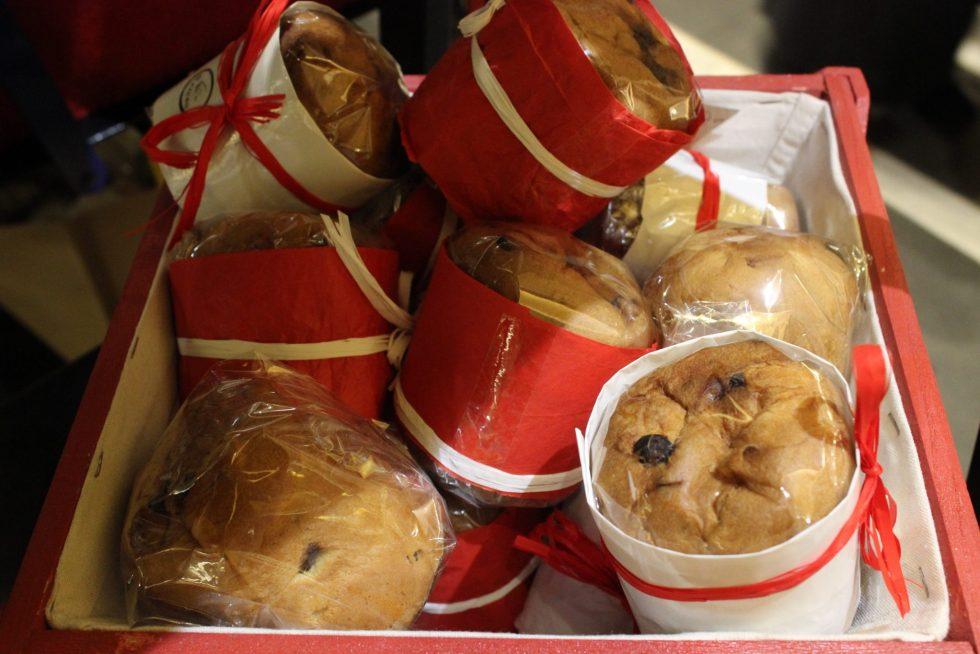 Christmas panettoni, Il Cigno, Parioli