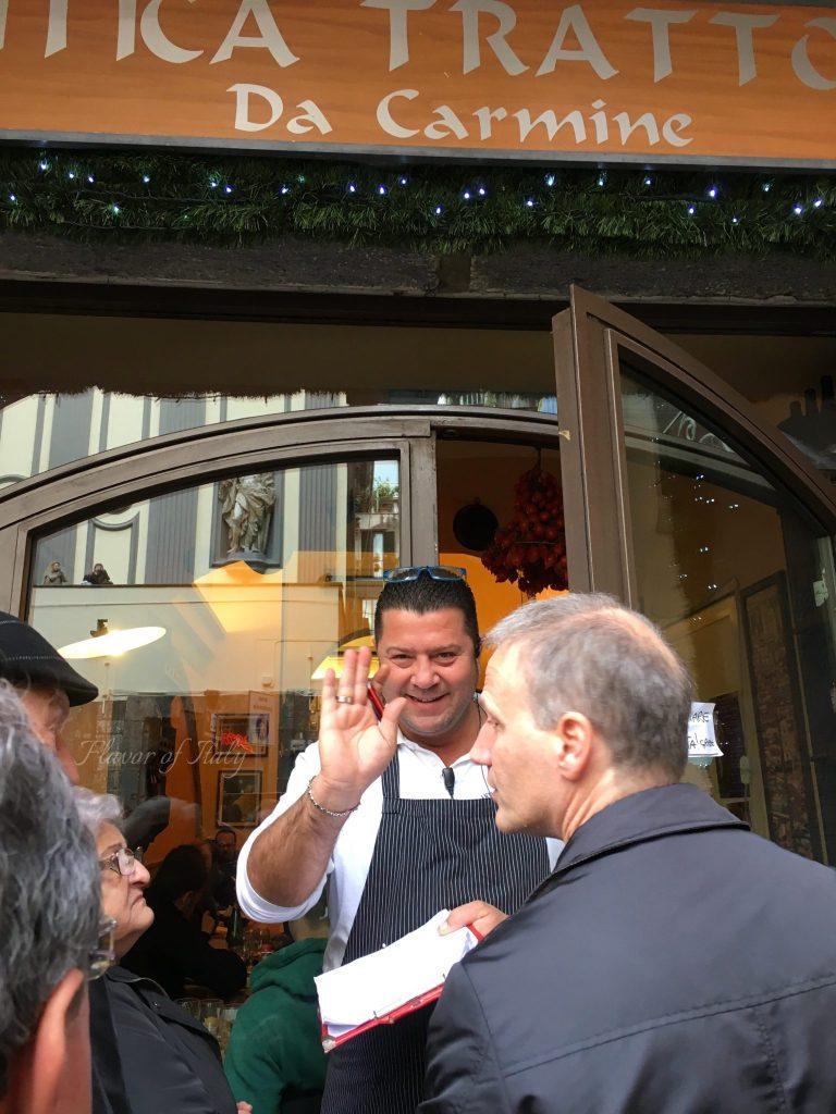 Trattoria Da Carmine, Naples