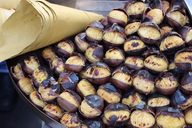 Chestnut roaster from Pienza