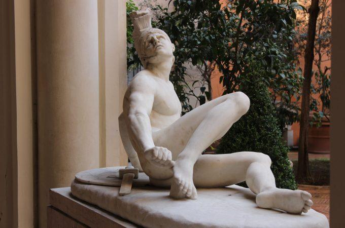 Academy of Saint Luke courtyard sculpture