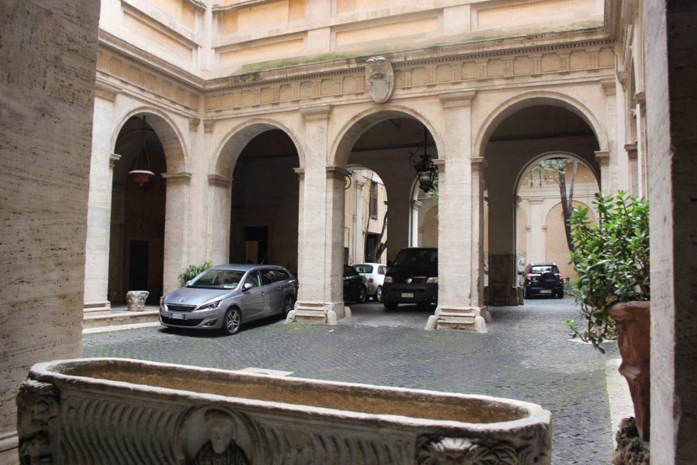 Caetani Palazzo Courtyard