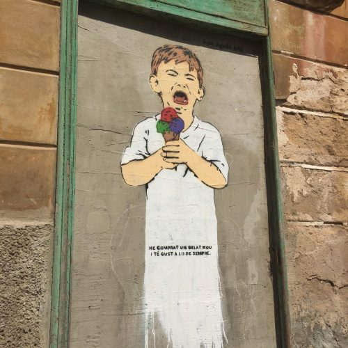 Joan Aguiló street artist, Palma Mallorca