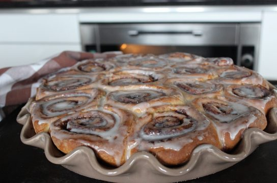 Melt in your mouth, gooey and delicious Glazed Cinnamon Rolls