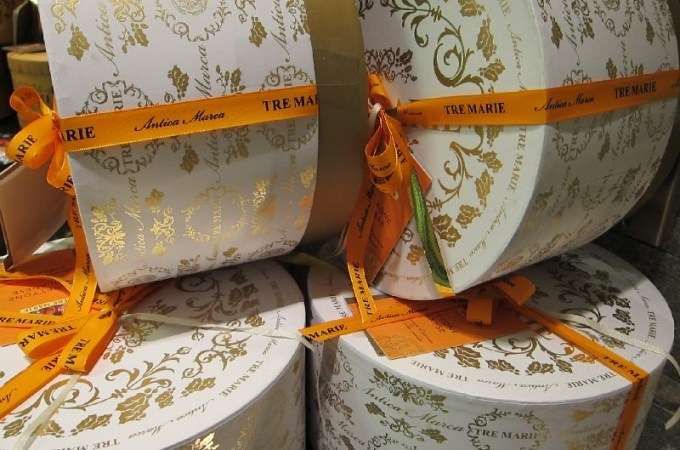 Christmas Panettone packages