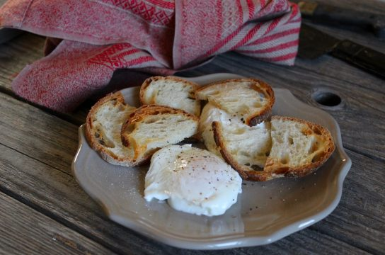 Perfect poached eggs and toast are great with almost any meal; here's how to make them perfect every time!