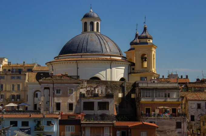 Ariccia's town center