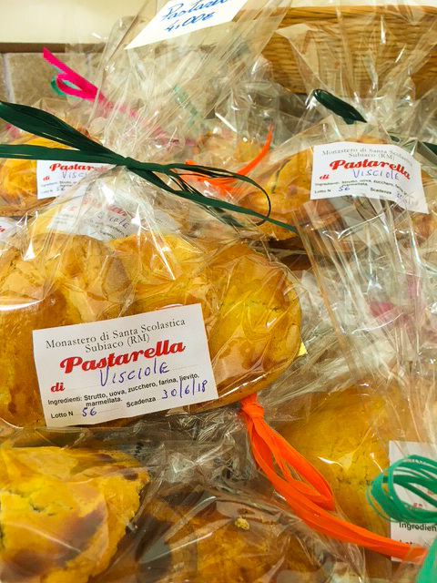 Saint Scholastica Monastery pastries Subiaco