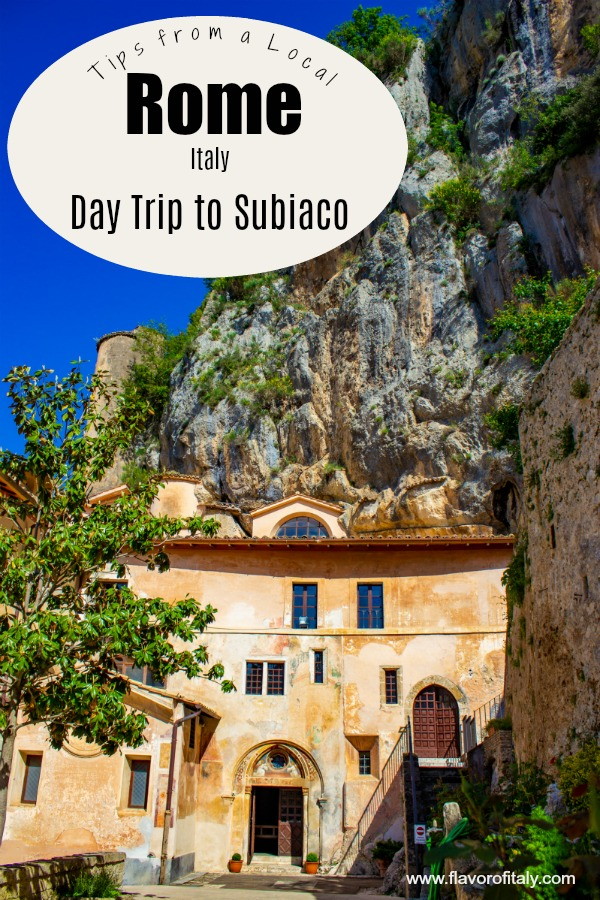 Subiaco is a splendid Day Trip from Rome that will immerse you in natural beauty and rich history dating back centuries!