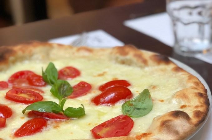 Pizza Caprese at Pizzeria Emma