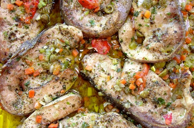 Sicilian swordfish is just about the best you'll ever taste!