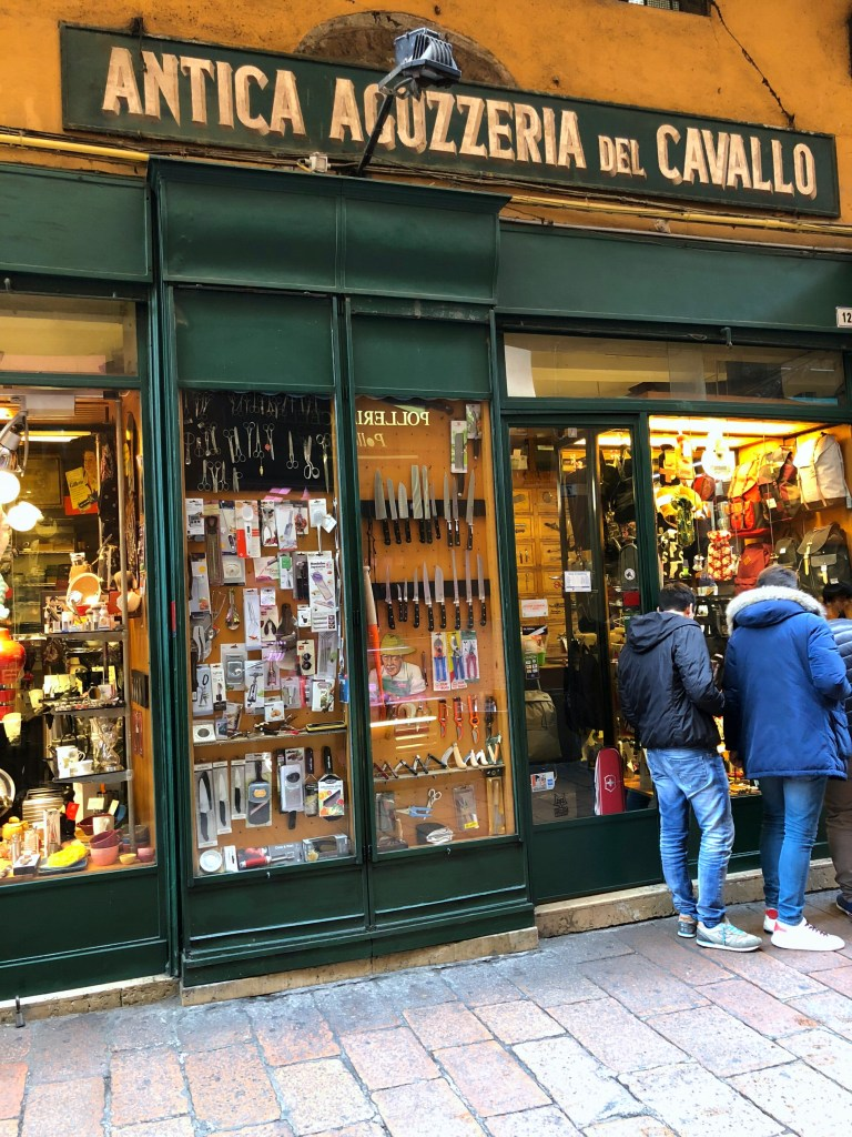 Antica Aguzzeria del Cavallo, Bologna is full of great culinary gadgetry
