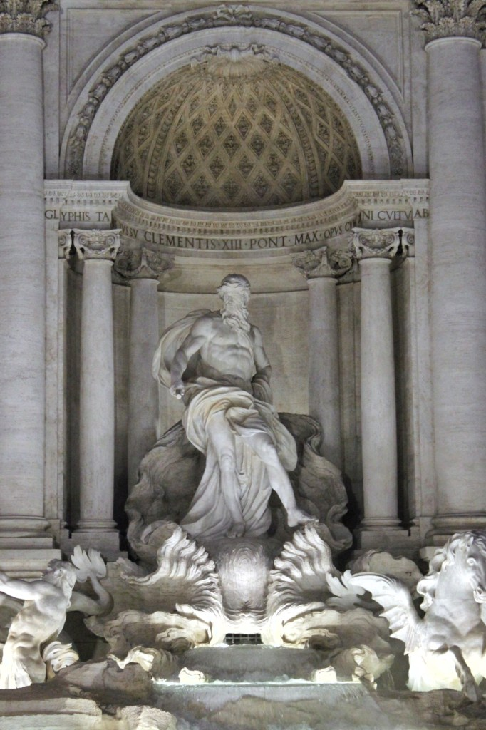 This Trevi Fountain and all its sculptures are dazzling! It's been recently restored and revamped and is a must-see in Rome!