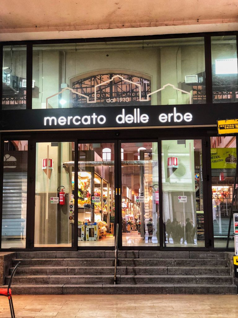 Bologna's Mercato delle Erbe is one of the top markets in the city