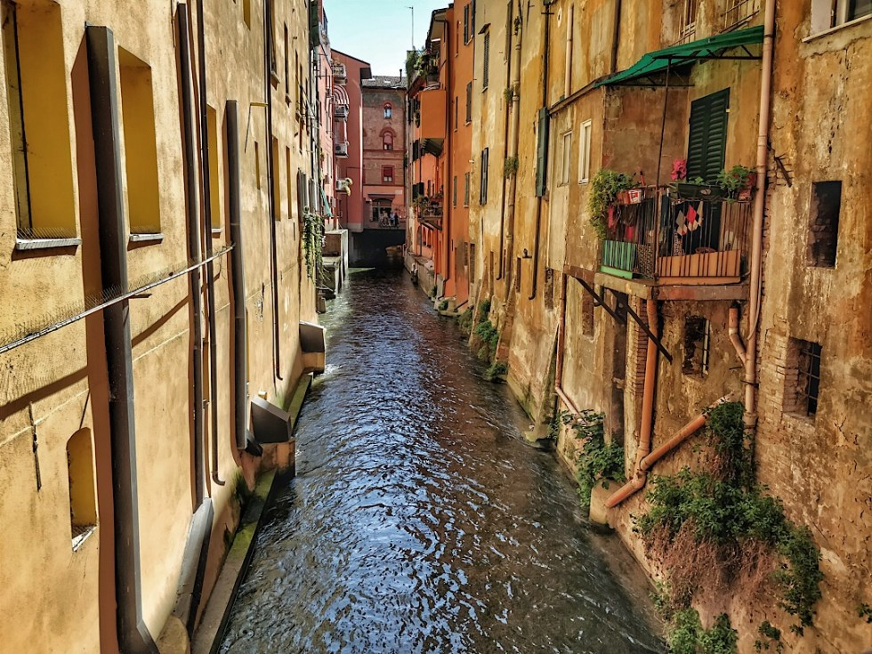 Bologna Canals are an unexpected but lovely part of Bologna