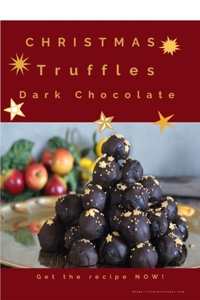 Christmas Holiday Chocolate Truffles: check out the recipe and easy food hack to make these!