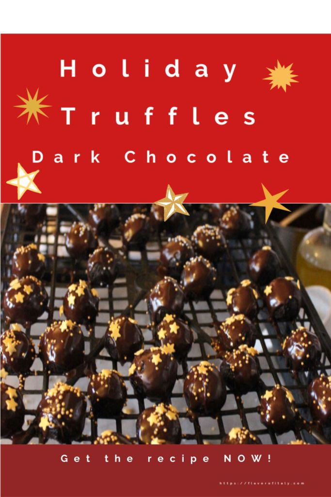 Holiday Chocolate Truffles made in a flash using this clever food hack!