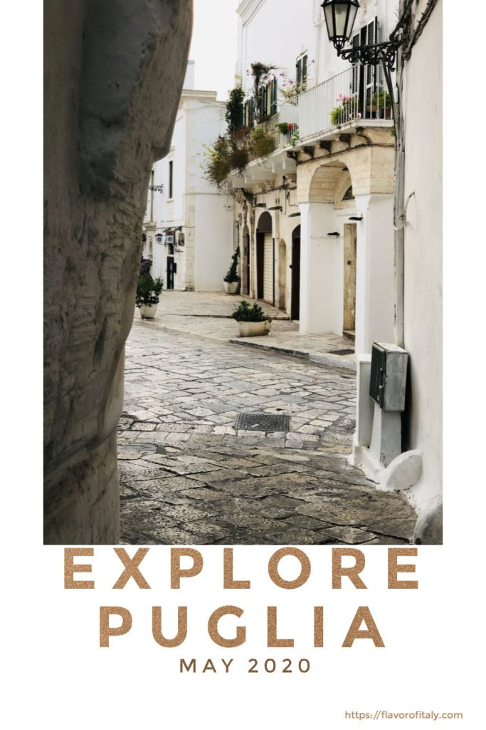 Let's explore the winding streets of Ostuni and all its hidden shops this fall and spring!