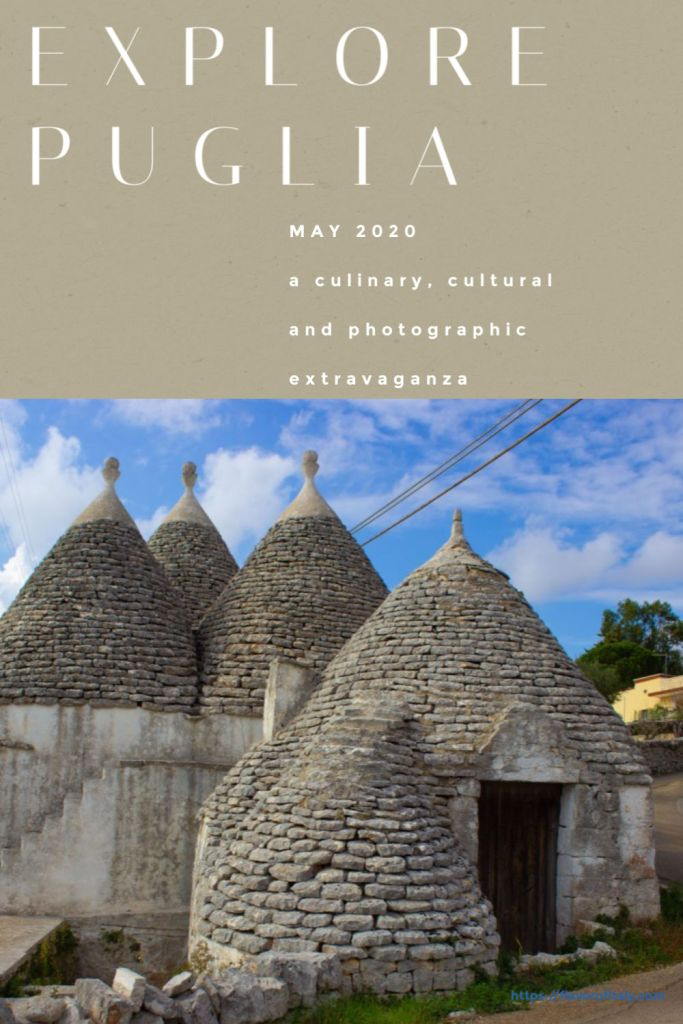 The trulli of Puglia are one of the most iconic views in the region!