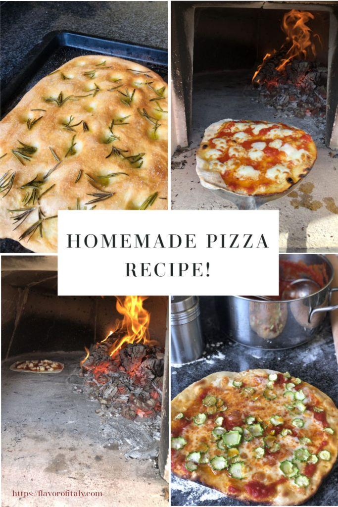 Homemade Pizza Recipe!
