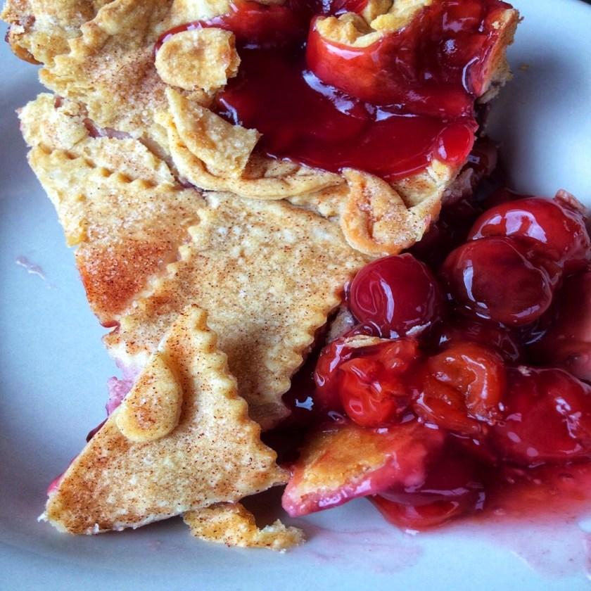 Food Memories: this cherry pie took me back to my grandma's kitchen decades ago