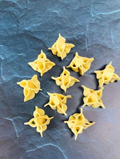 Delicious and gorgeous pasta origami