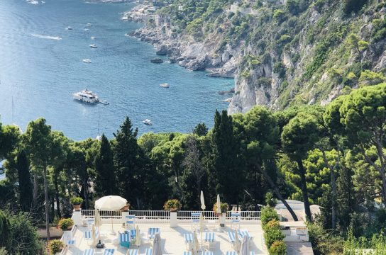 Villa Brunella and its magnificent view of Marina Piccola