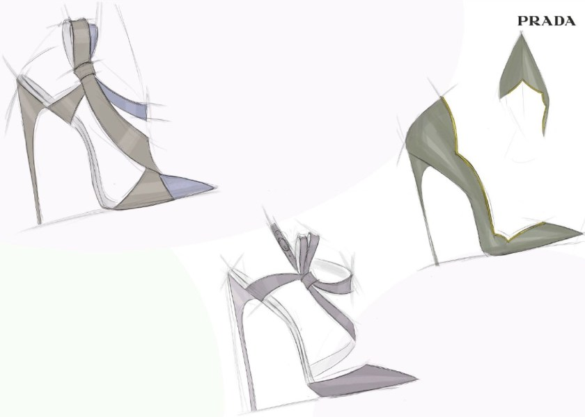 Gorgeous high heel Italian shoe design