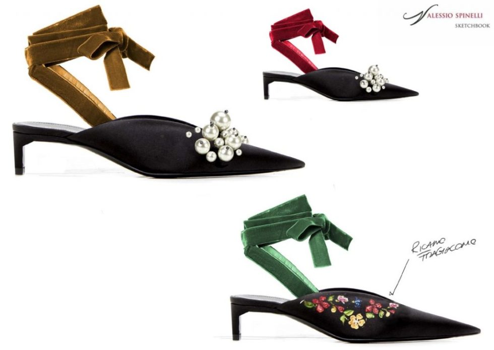 Luxury Italian shoe brand Fragiacomo shoe designs created by Alessio Spinelli