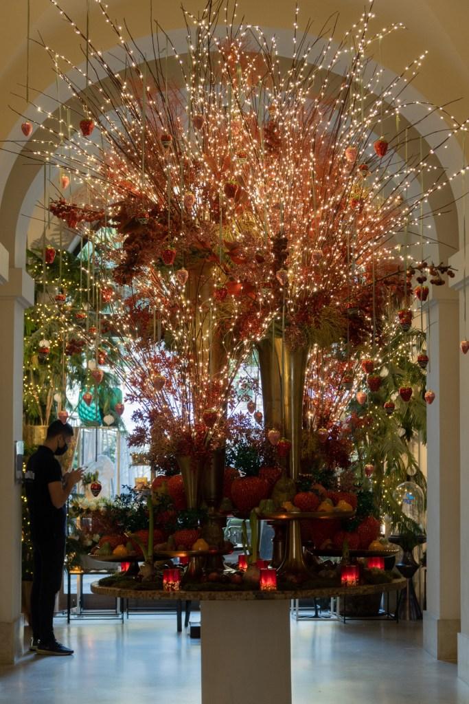 Hotel de Russie Christmas Rome 2020