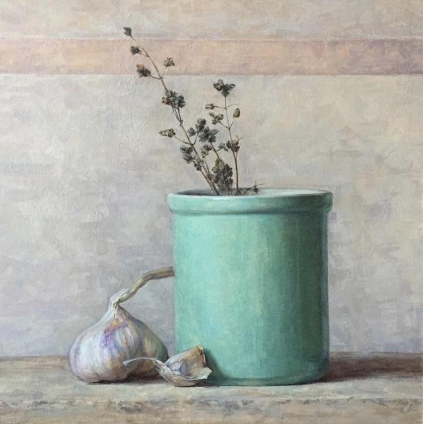 Andrea Smith garlic painting