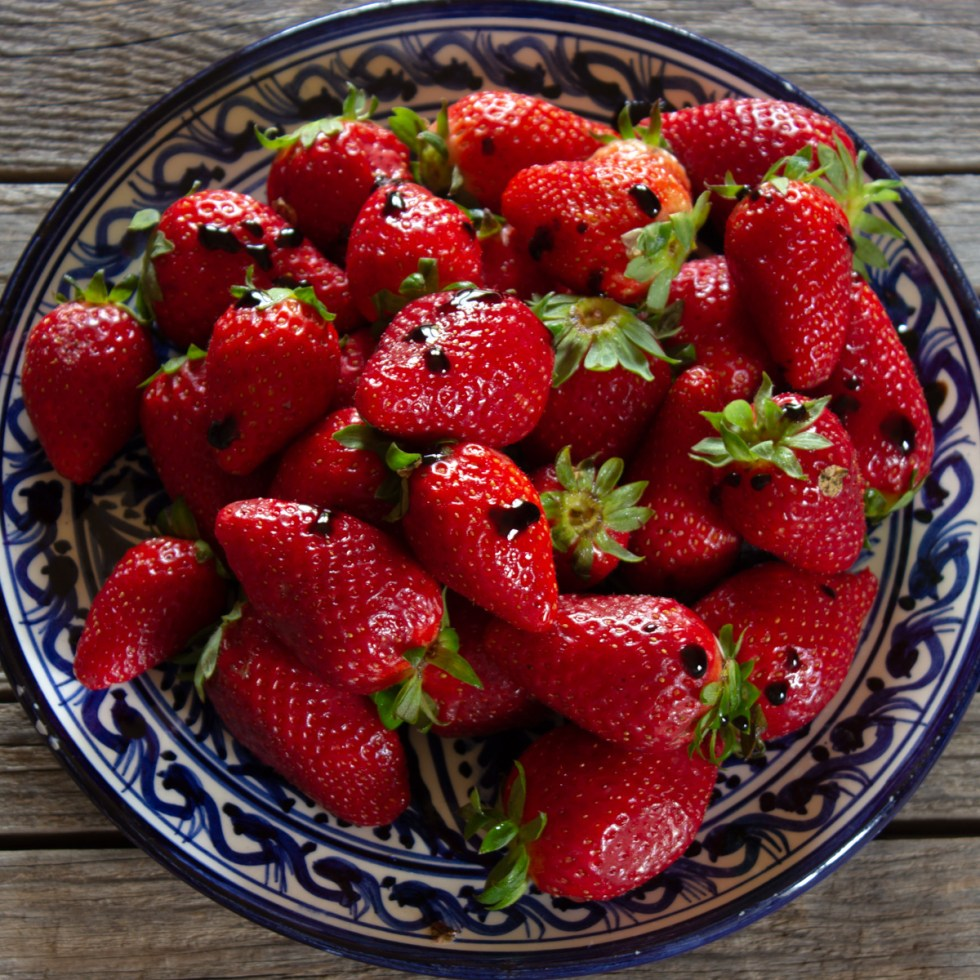 Strawberries with DOP Balsamic Vinegar