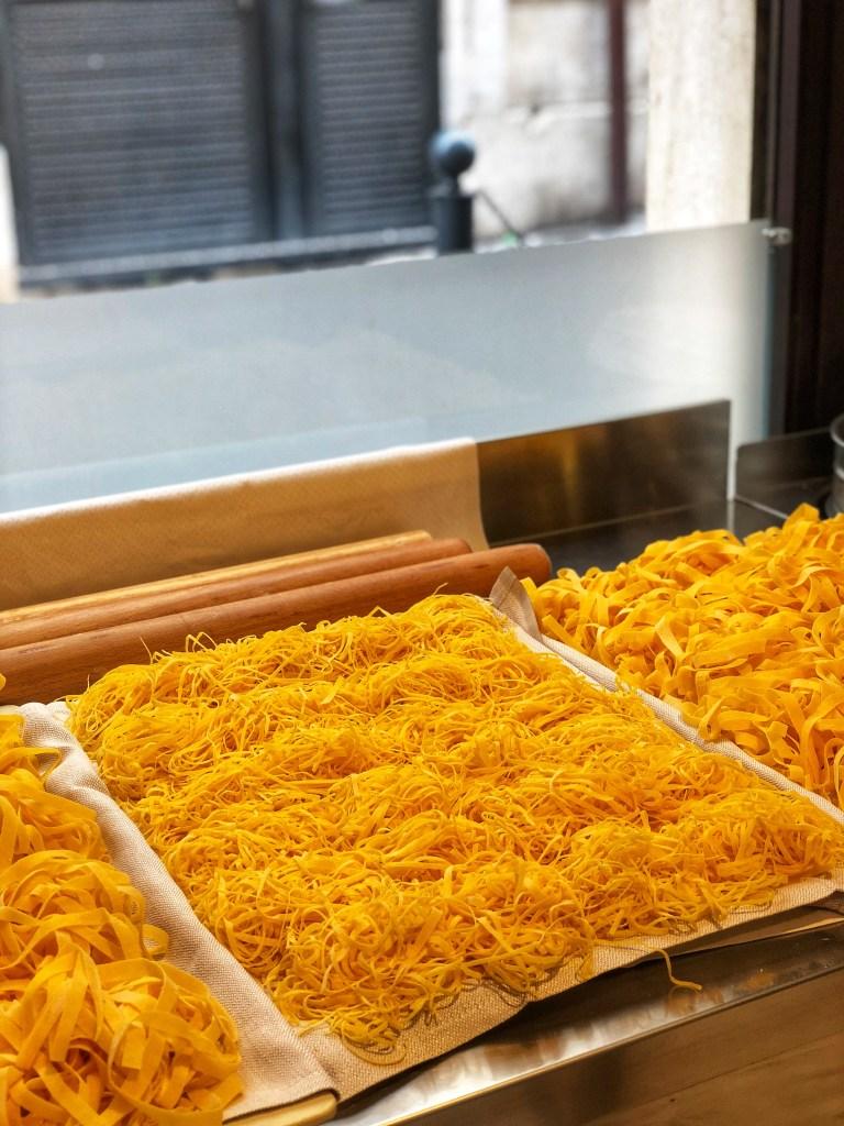 Colline Emiliane  restaurant makes homemade pasta  every day